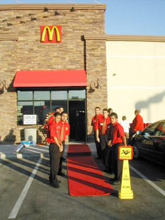 McDonald's Grand Opening Red Carpet